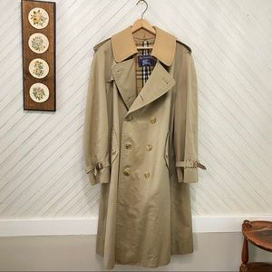 Burberry Nova Check Wool Lined Belted Trench Coat